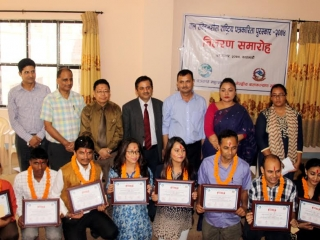 Award Distribution Program To Journalist